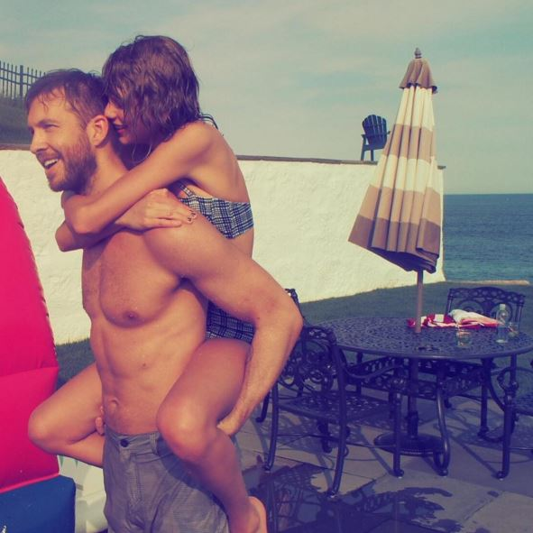 Taylor Swift y Calvin Harris Instagram