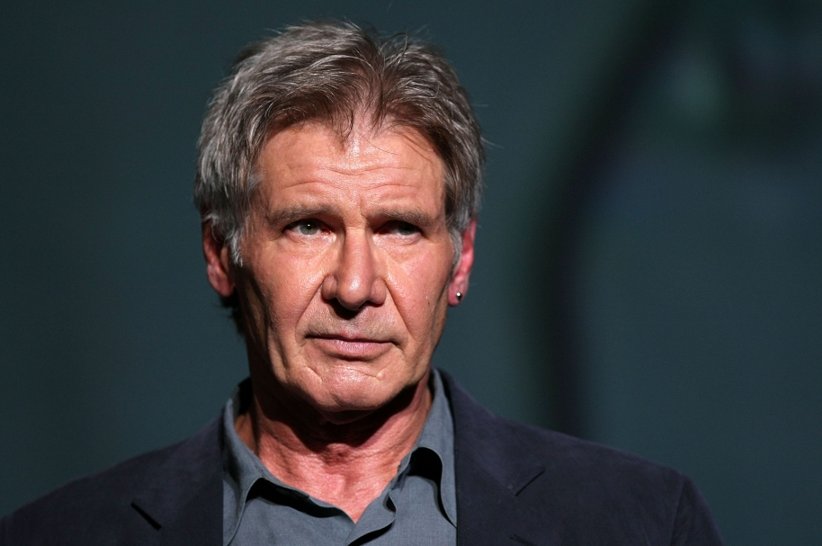 """TOKYO - JUNE 05:  Actor Harrison Ford attends """"Indiana Jones and the Kingdom of the Crystal Skull"""" Japan Premiere at the National Yoyogi Gymnasium on June 5, 2008 in Tokyo, Japan. The film will open on June 21 in Japan.  (Photo by Junko Kimura/Getty Images)"""