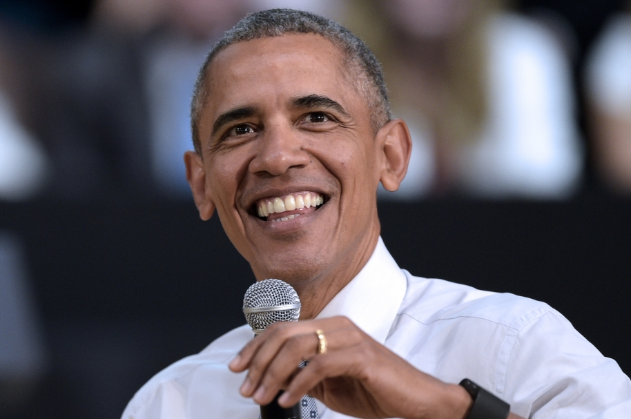 """US President Barack Obama speaks at the """"Usina del Arte"""" cultural centre in Buenos Aires on March 23, 2016. The United States and Argentina sealed a major trade deal on the eve -the first day of President Barack Obama's visit- bolstering the efforts of his counterpart to end a decade-and-a-half of international financial isolation.   AFP PHOTO / JUAN MABROMATA / AFP / JUAN MABROMATA"""