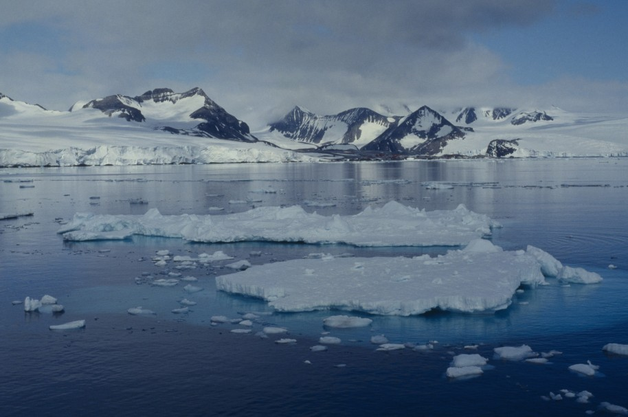 ANTARCTICA, Antarctic Sound. Ice landscape. (Photo by Universal Images Group via Getty Images)