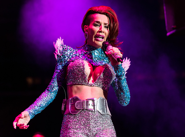 NEW YORK, NY - OCTOBER 28: Singer Ivy Queen performs during Mega 97.9 Megaton Concert at Madison Square Garden on October 28, 2015 in New York City. (Photo by Gilbert Carrasquillo/WireImage)