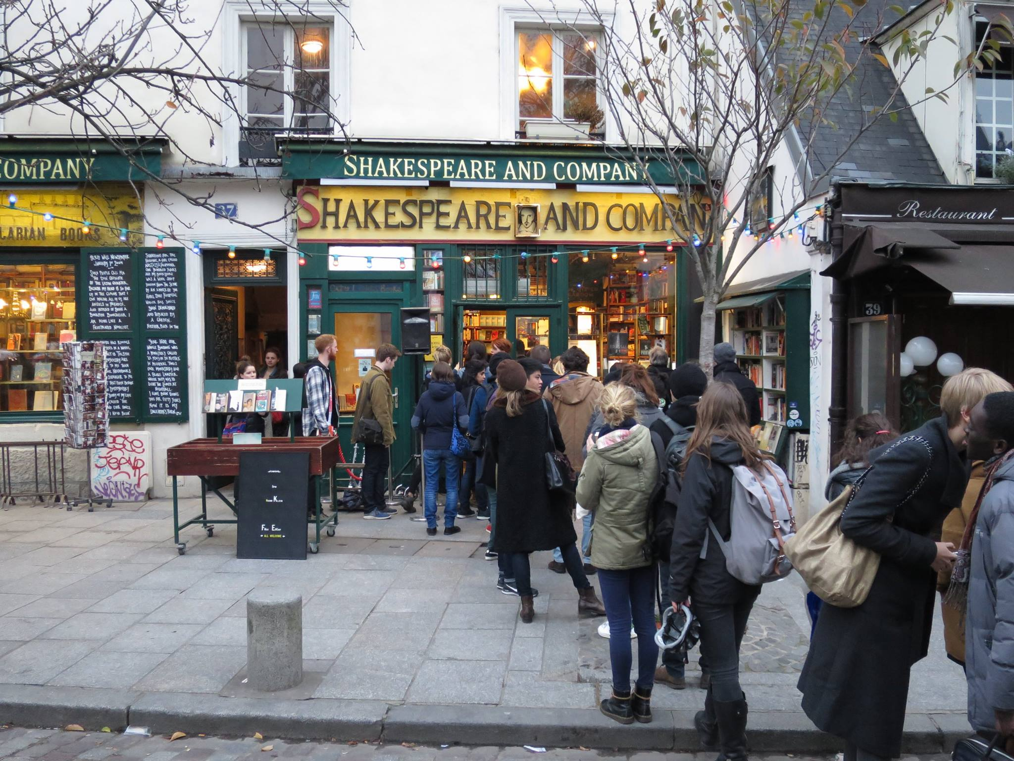 Facebook Shakespeare and Co