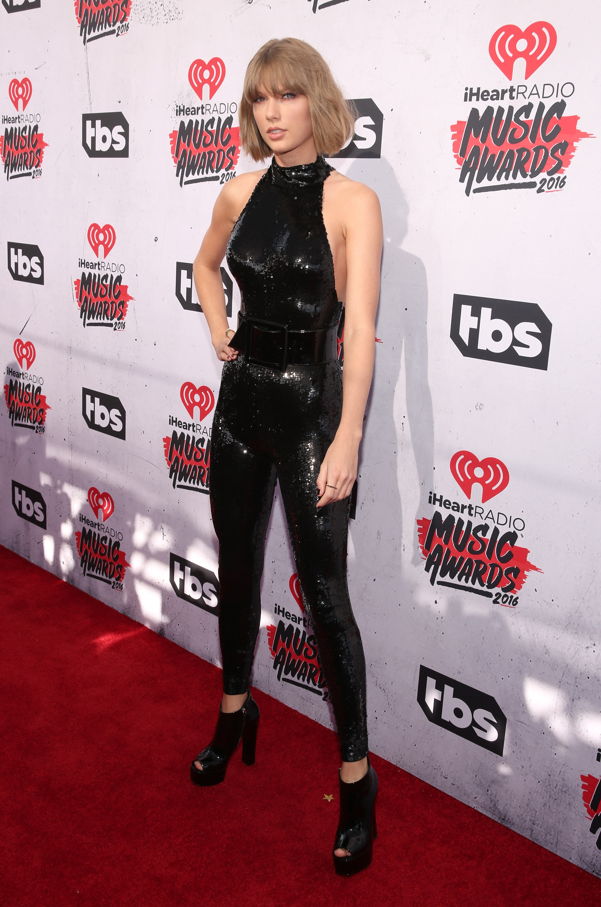 INGLEWOOD, CALIFORNIA - APRIL 03: Taylor Swift attends the iHeartRadio Music Awards at the Forum on April 3, 2016 in Inglewood, California. (Photo by Todd Williamson/Getty Images)