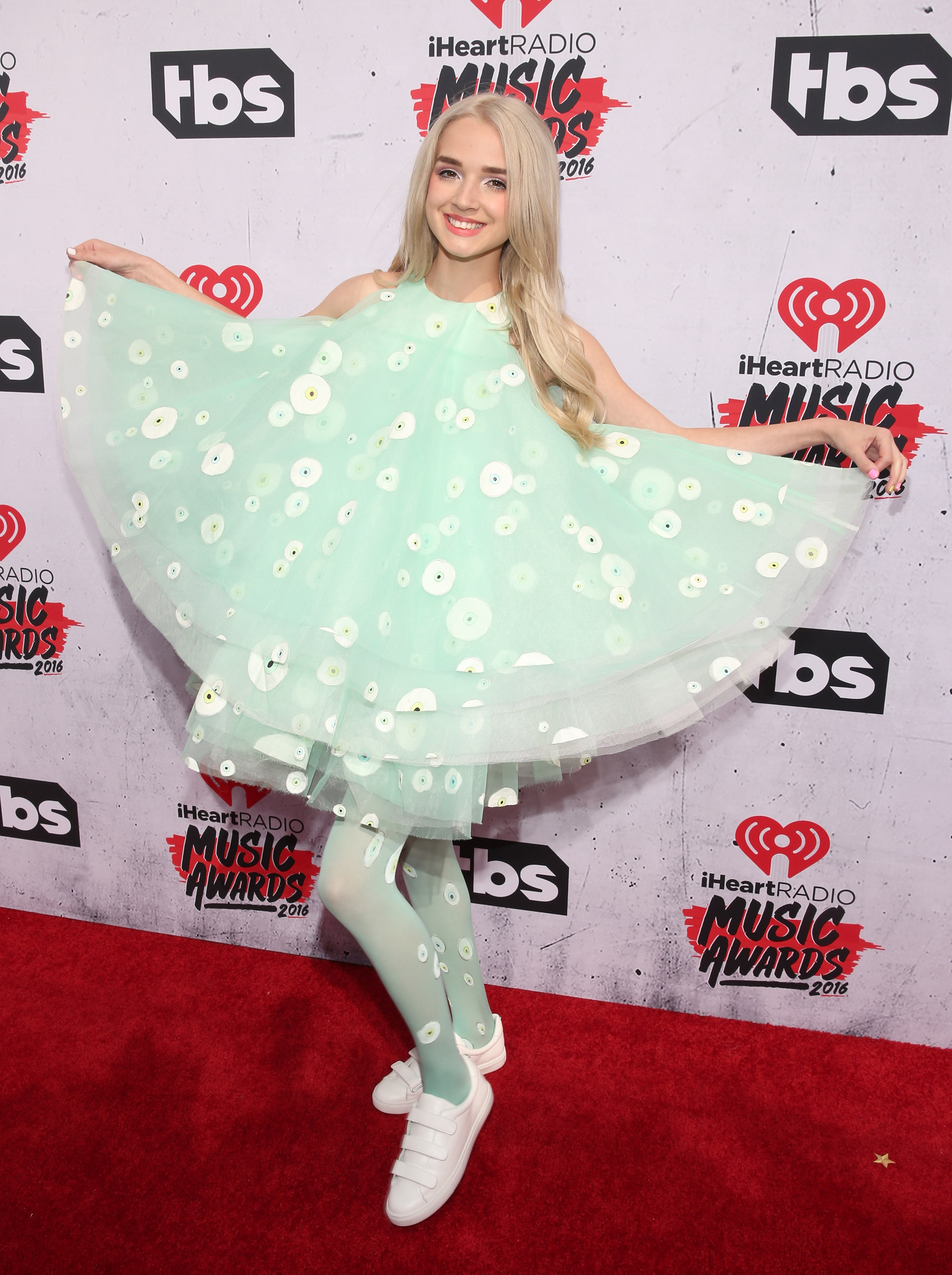 INGLEWOOD, CALIFORNIA - APRIL 03: That Poppy attends the iHeartRadio Music Awards at the Forum on April 3, 2016 in Inglewood, California. (Photo by Todd Williamson/Getty Images)