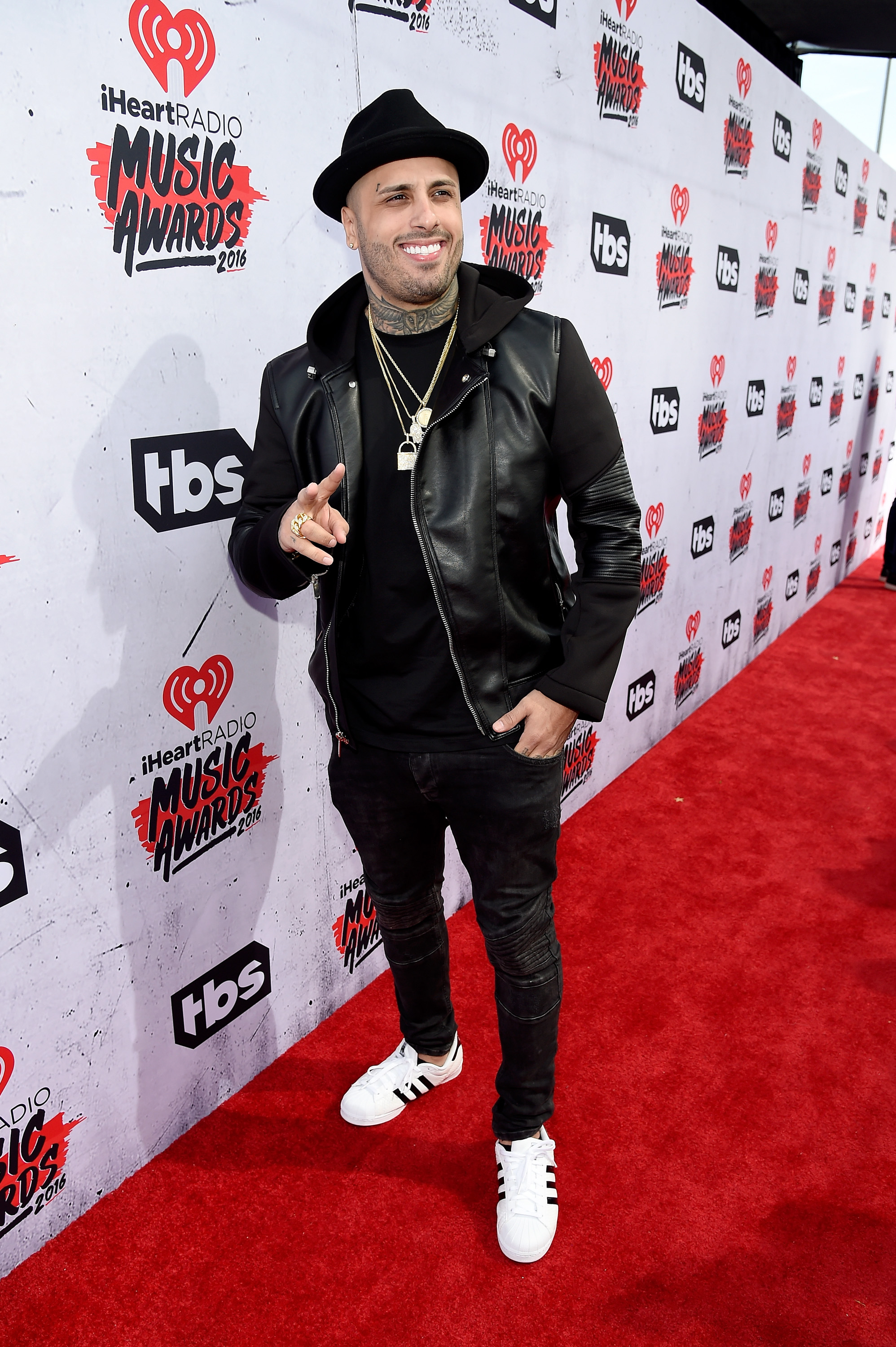 attends the iHeartRadio Music Awards at The Forum on April 3, 2016 in Inglewood, California.