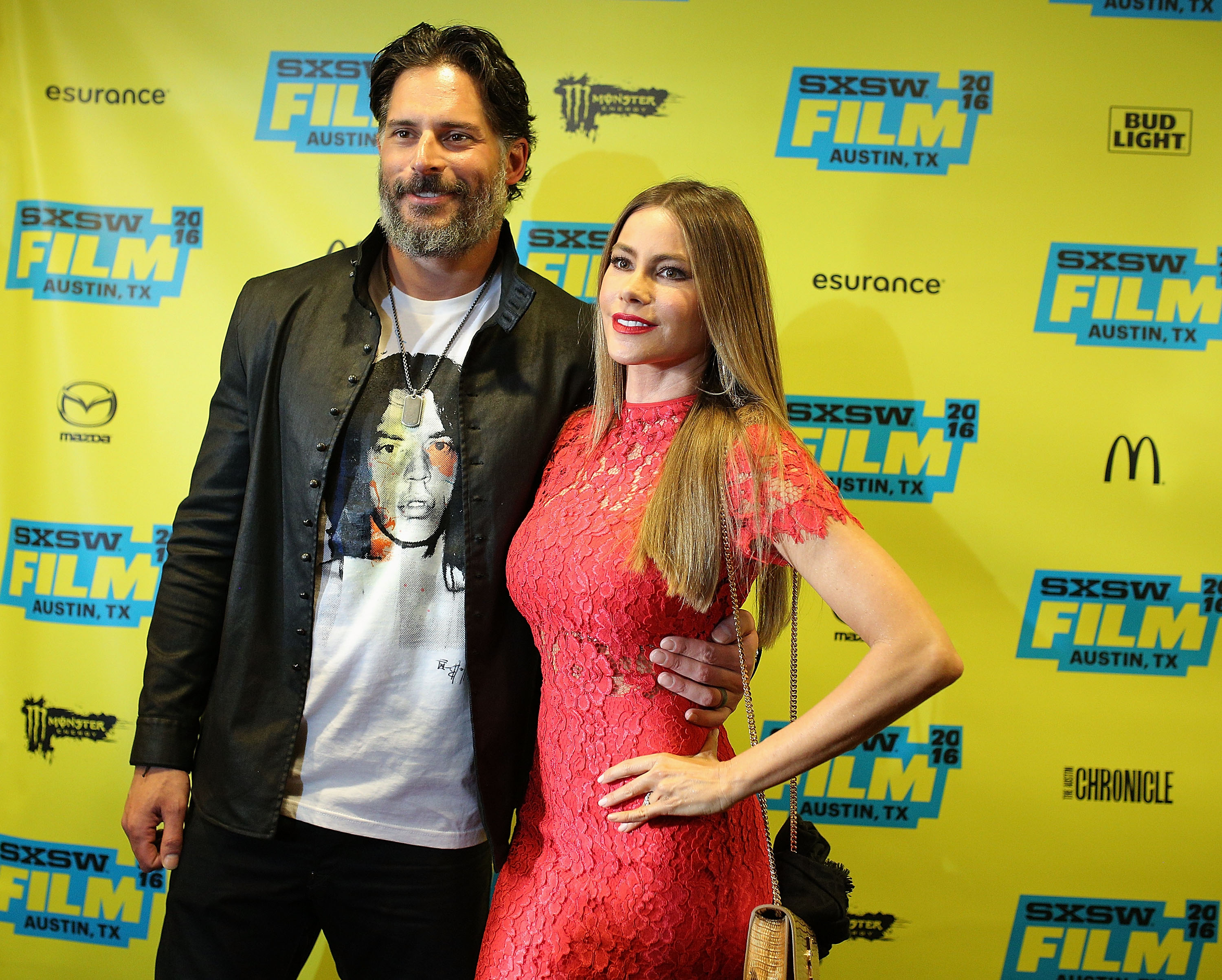 Sofía Vergara y Joe Manganiello. Foto: Getty Images