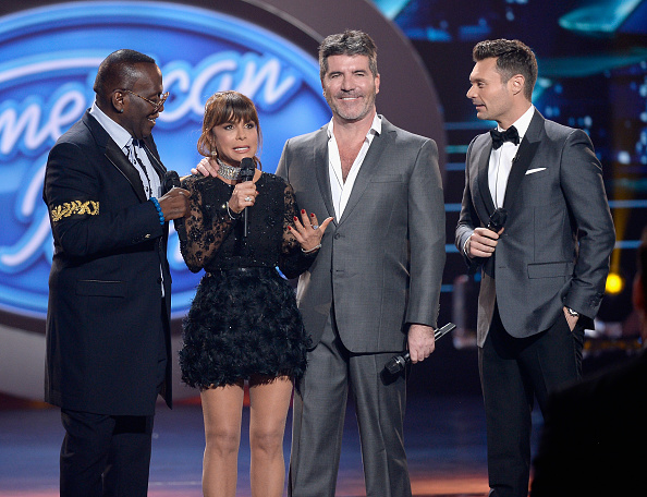 """onstage during FOX's """"American Idol"""" Finale For The Farewell Season at Dolby Theatre on April 7, 2016 in Hollywood, California. at Dolby Theatre on April 7, 2016 in Hollywood, California."""