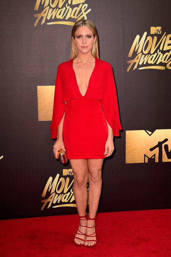 attends the 2016 MTV Movie Awards at Warner Bros. Studios on April 9, 2016 in Burbank, California. MTV Movie Awards airs April 10, 2016 at 8pm ET/PT.