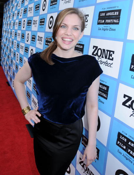"""LOS ANGELES, CA - JUNE 20: Actress Anna Chlumsky attends the 2009 Los Angeles Film Festival Screening and Q&A of """"In The Loop"""" held at the Majestic Crest Theatre on June 20, 2009 in Los Angeles, California. (Photo by Barry King/WireImage)"""