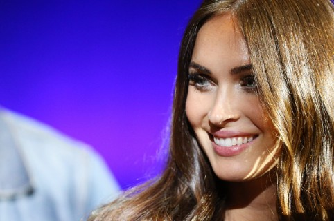 LAS VEGAS, NEVADA - APRIL 11:  Megan Fox speaks onstage during CinemaCon 2016 - Paramount Pictures opening night presentation held at The Colosseum at Caesars Palace on April 11, 2016 in Las Vegas, Nevada.  (Photo by Michael Tran/FilmMagic)