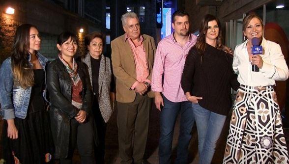 Carolina Cruz, Luz María y familia