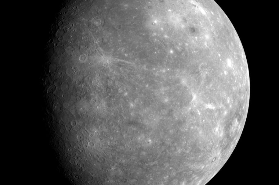 NASA's Messenger Spacecraft Captures Mercury