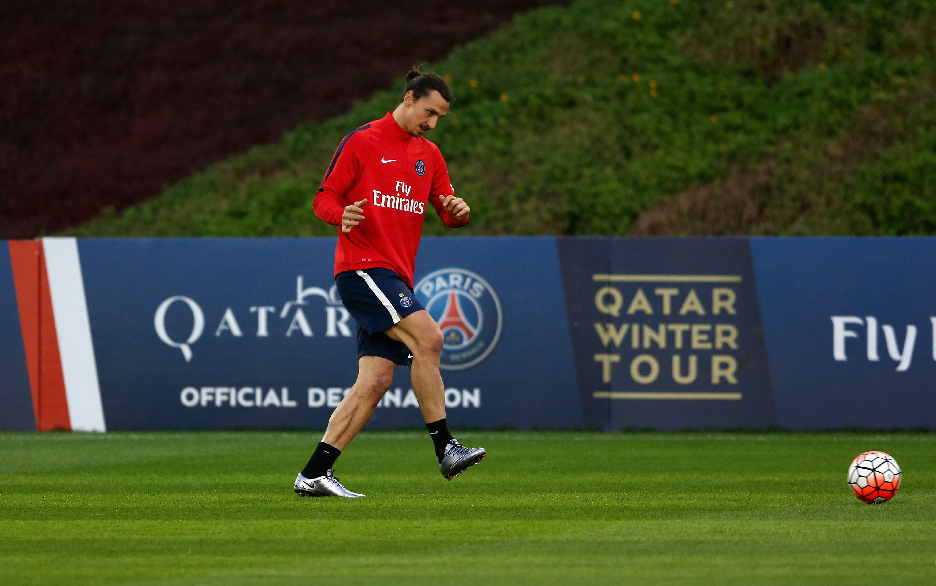 Paris Saint-Germain F.C Training Session