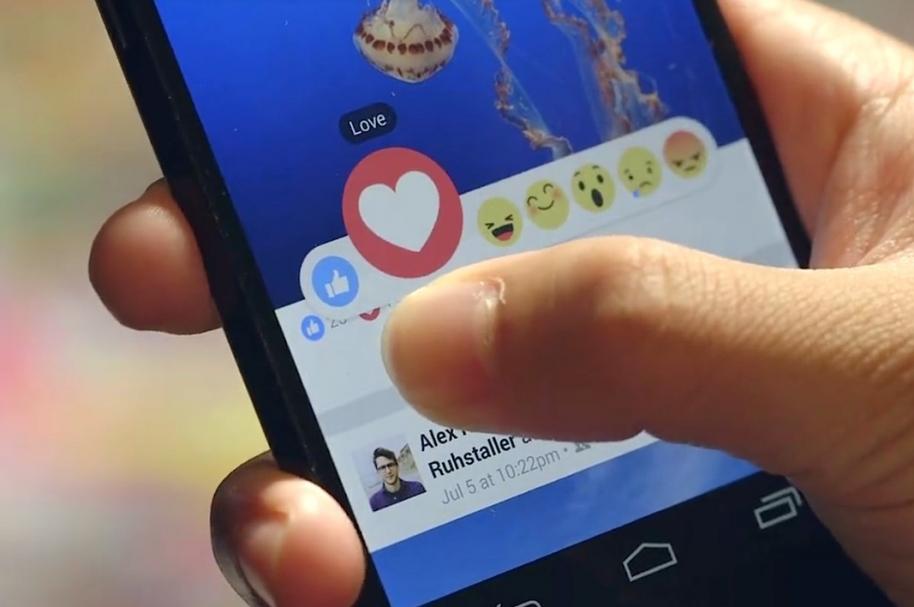 Reaccionies de Facebook