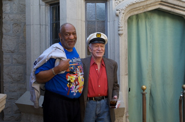 Bill Cosby y Hugh Hefner