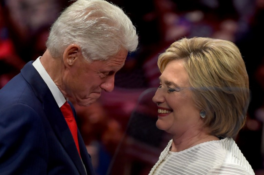 Hillary y Bill Clinton