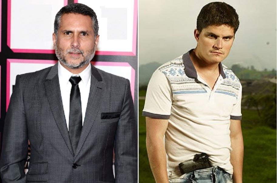 El actor Marlon Moreno y su sobrino, el también actor, Roger Moreno,