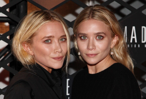 NEW YORK, NY - SEPTEMBER 05: Mary-Kate Olsen and Ashley Olsen attend the Lexus Design Disrupted Fashion Event at SIR Stage 37 on September 5, 2013 in New York City. (Photo by Taylor Hill/Getty Images)