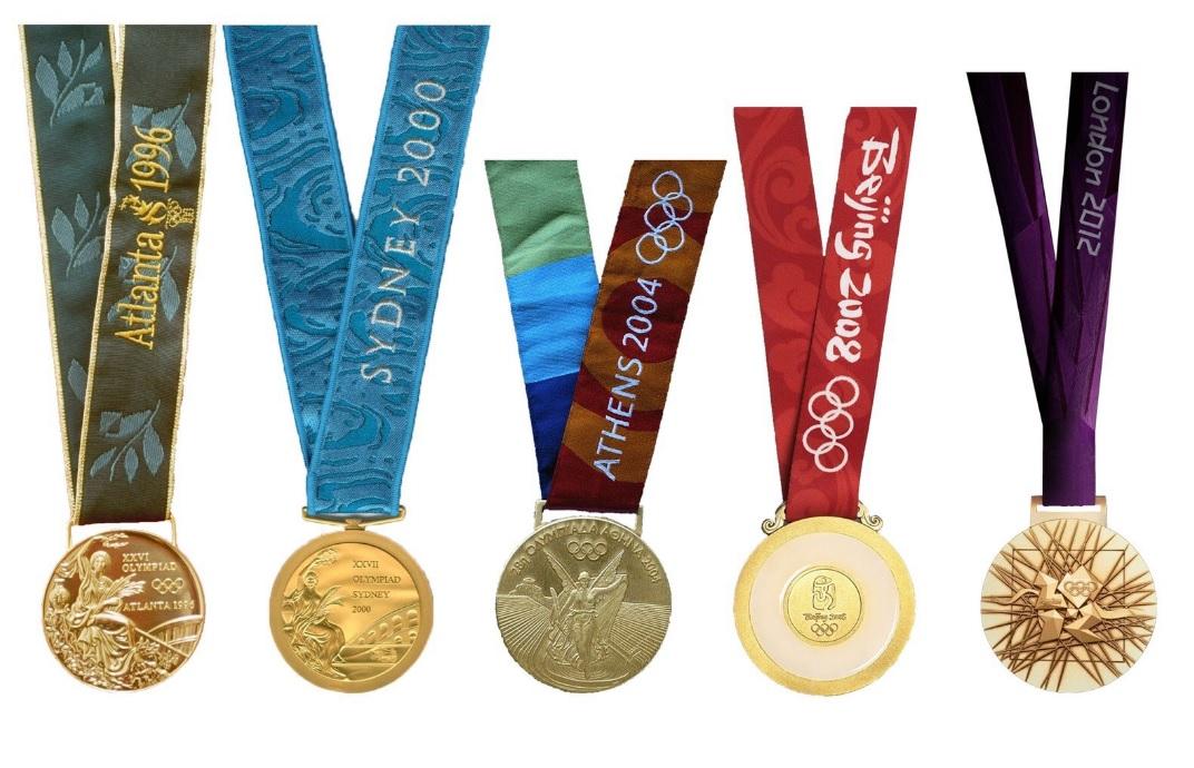 medallas oro