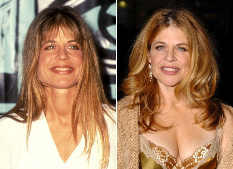 Linda Hamilton, presenter during The 1991 MTV Music Video Awards - Press Room at The Universal Amphitheater in Universal City, CA, United States. (Photo by SGranitz/WireImage)