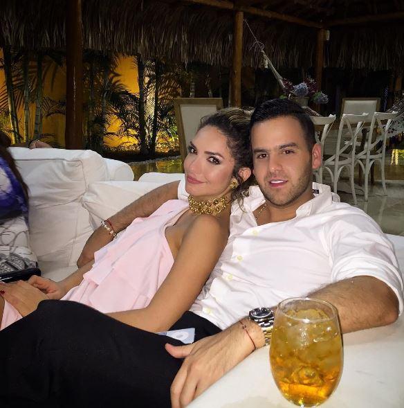 Kimberly Reyes y Federico Severini.