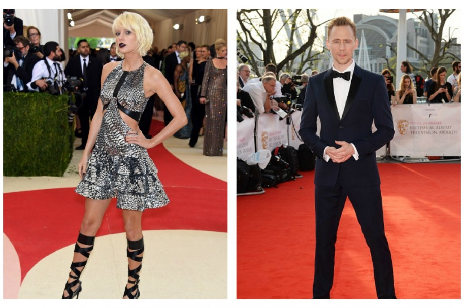 Taylor Swift y Tom Hiddlesto