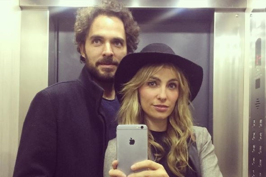 Manolo Cardona y Valeria Santos