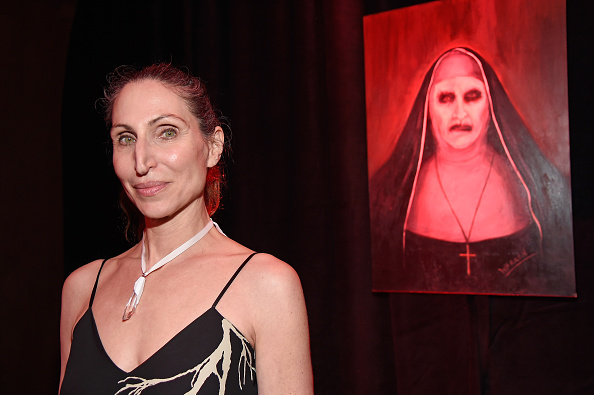 """HOLLYWOOD, CA - JUNE 07: Actress Bonnie Aarons attends the after party for the premiere of """"The Conjuring 2"""" during the 2016 Los Angeles Film Festival at the Hollywood Roosevelt Hotel on June 7, 2016 in Hollywood, California. (Photo by Frazer Harrison/WireImage)"""