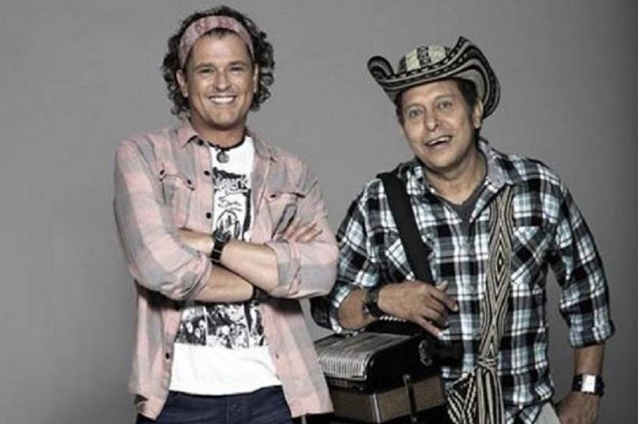Carlos Vives y Egidio Cuadrado