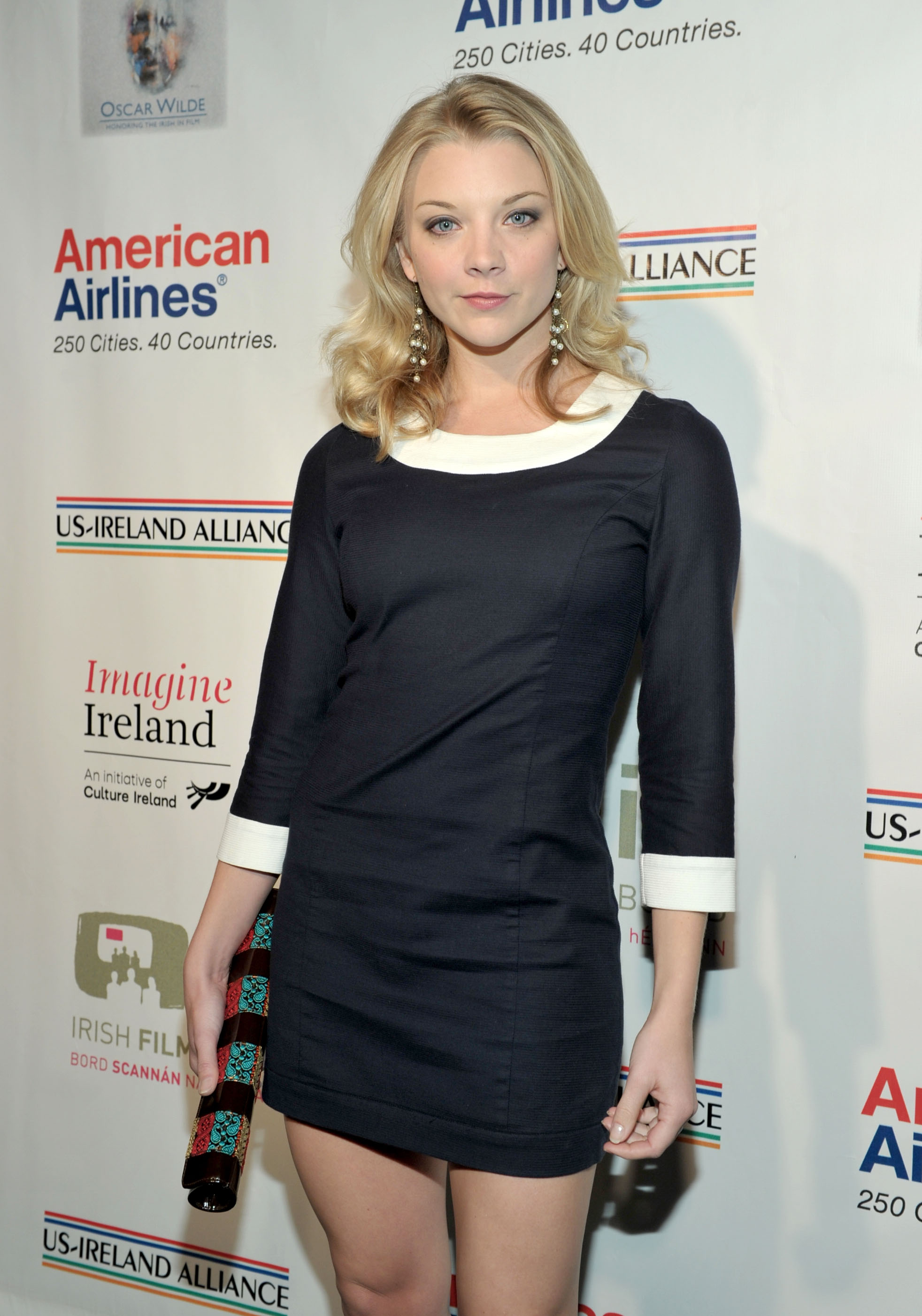 "LOS ANGELES, CA - FEBRUARY 24: Actress Natalie Dormer arrives at 6th Annual ""Oscar Wilde: Honoring the Irish in Film"" Pre-Academy Awards party held at the Ebell Club of Los Angeles on February 24, 2011 in Los Angeles, California. Alberto E. Rodriguez/Getty Images for US-Ireland Alliance/AFP"