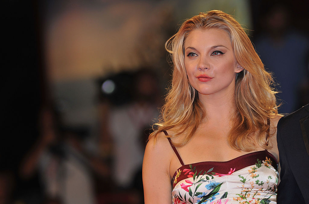 "VENICE, ITALY - SEPTEMBER 01: Actress Natalie Dormer attends the ""W.E."" premiere at the Palazzo Del Cinema during the 68th Venice Film Festival on September 1, 2011 in Venice, Italy. (Photo by Pascal Le Segretain/Getty Images)"