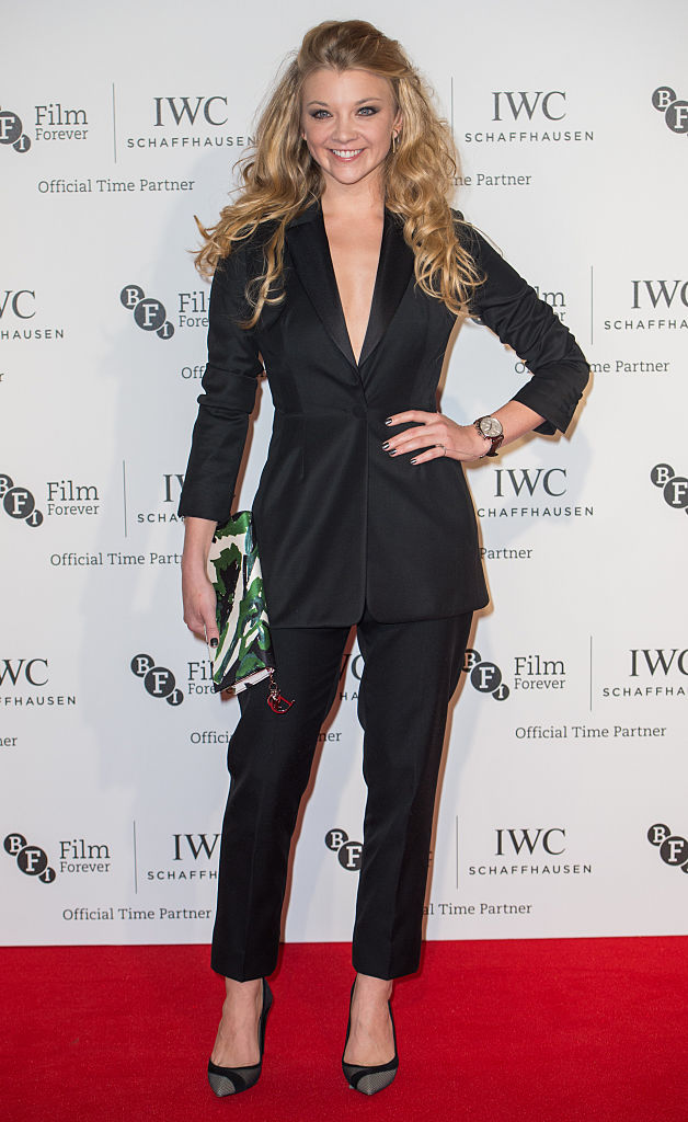 LONDON, ENGLAND - OCTOBER 07: Natalie Dormer attends the IWC Gala dinner in honour of the BFI at Battersea Evolution on October 7, 2014 in London, England. (Photo by Samir Hussein/Getty Images)