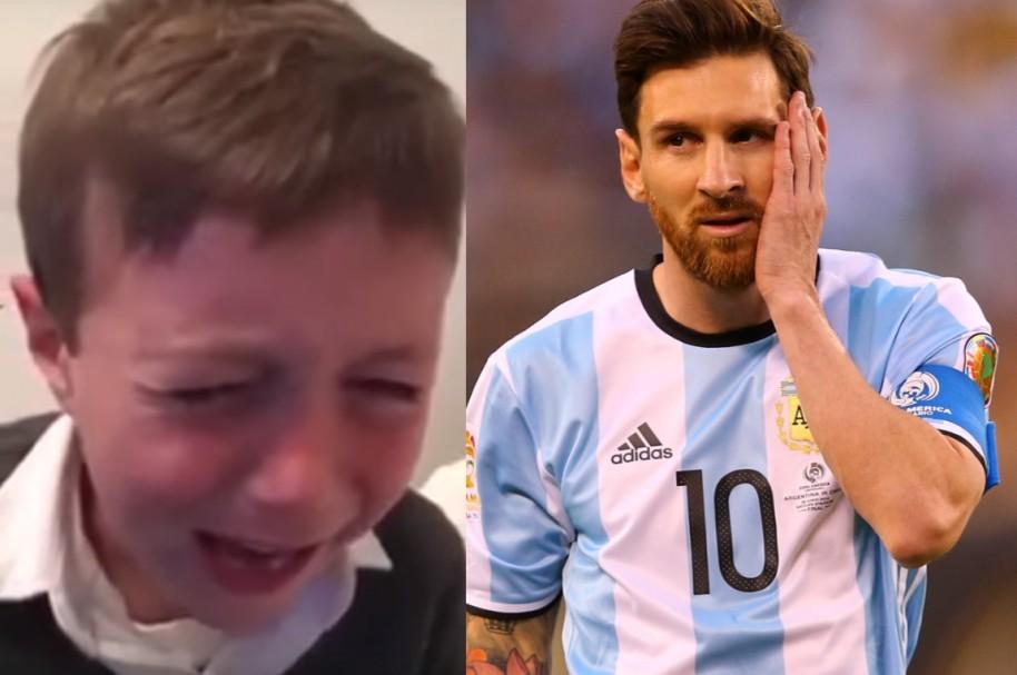 niño Messi