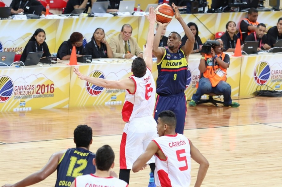 Colombia basquet