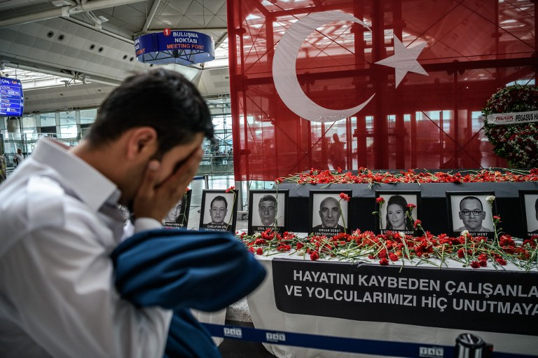 Foto de AFP/Ozan Kose/ Turkey OUT.