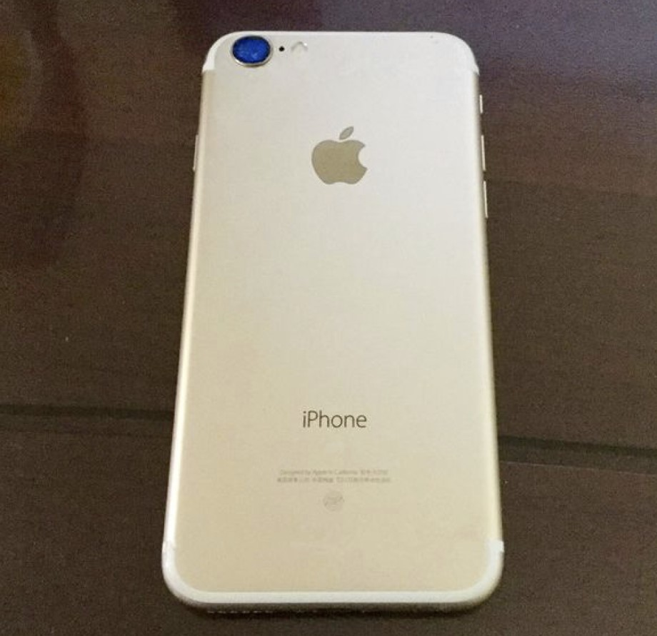 iPhone 7 camara (rumor)