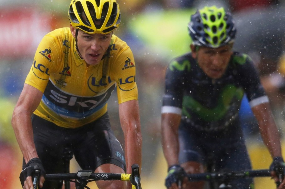 Nairo persigue a Froome