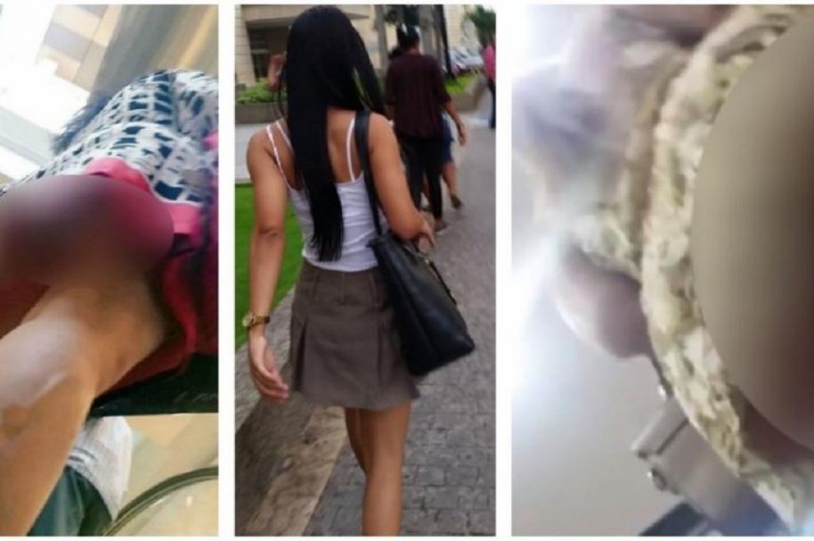 chicas peruanas cámara oculta