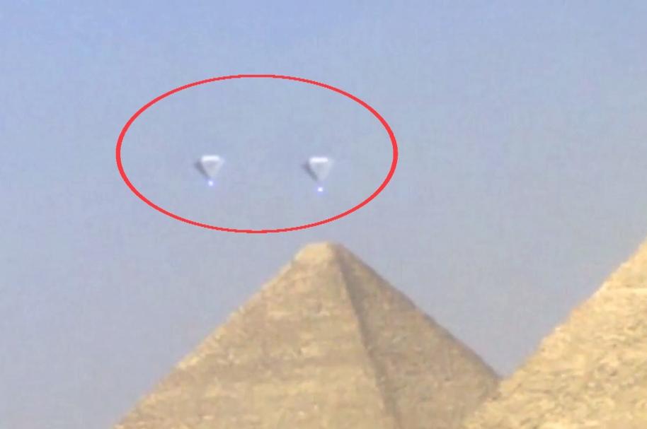 Ovnis en Egipto.