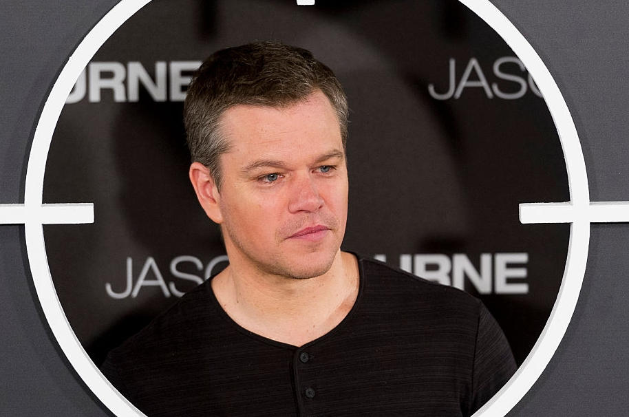 Matt Damon como 'Jason Bourne'