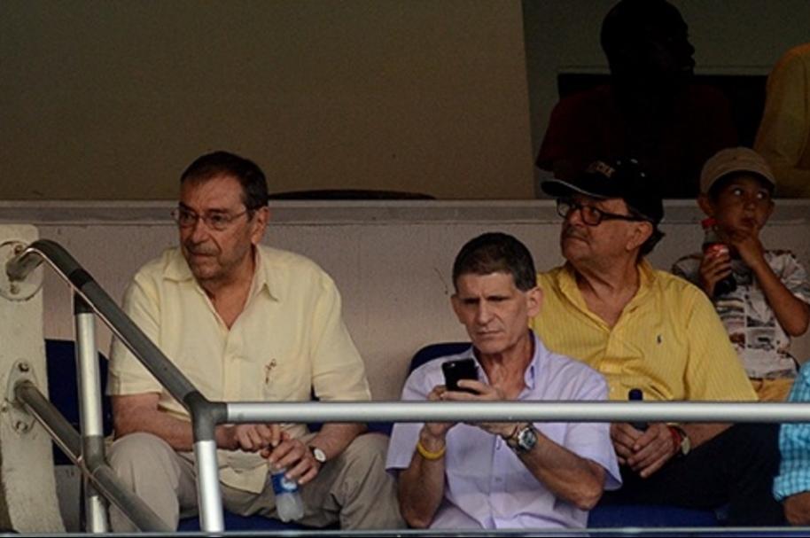 Fuad Char no pudo ver el partido de Junior