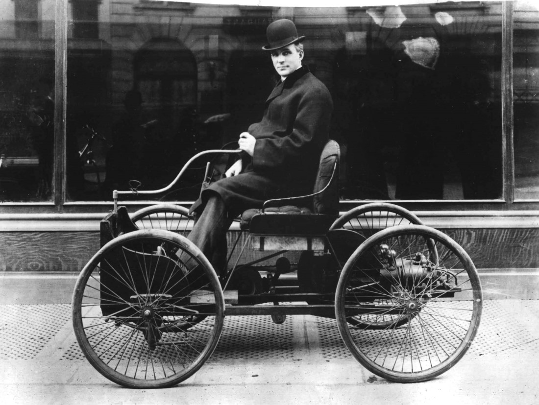 Henry Ford. Foto: Getty.