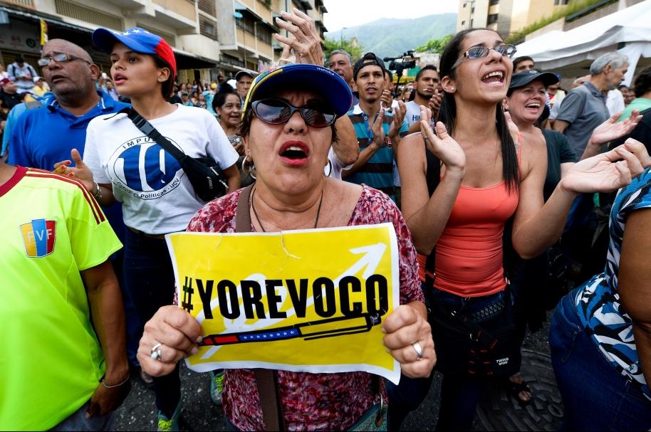 Marcha por revocatorio en Venezuela
