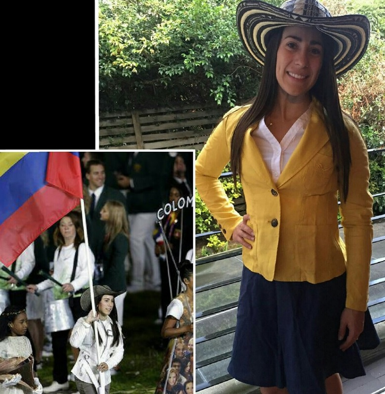 Mariana Pajon inauguracion FB