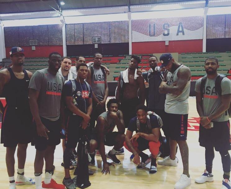 Equipo de baloncesto de EE. UU.
