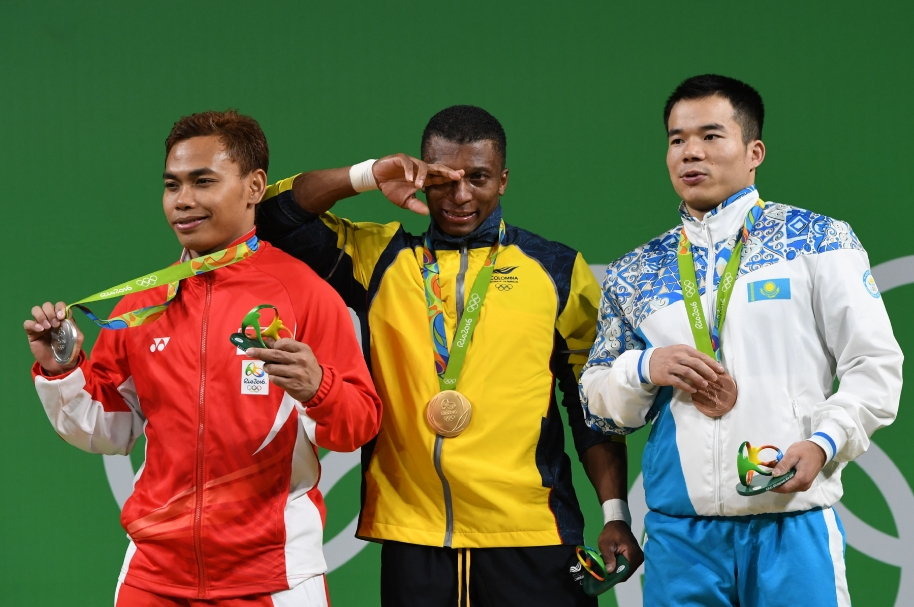 WEIGHTLIFTING-OLY-2016-RIO-PODIUM