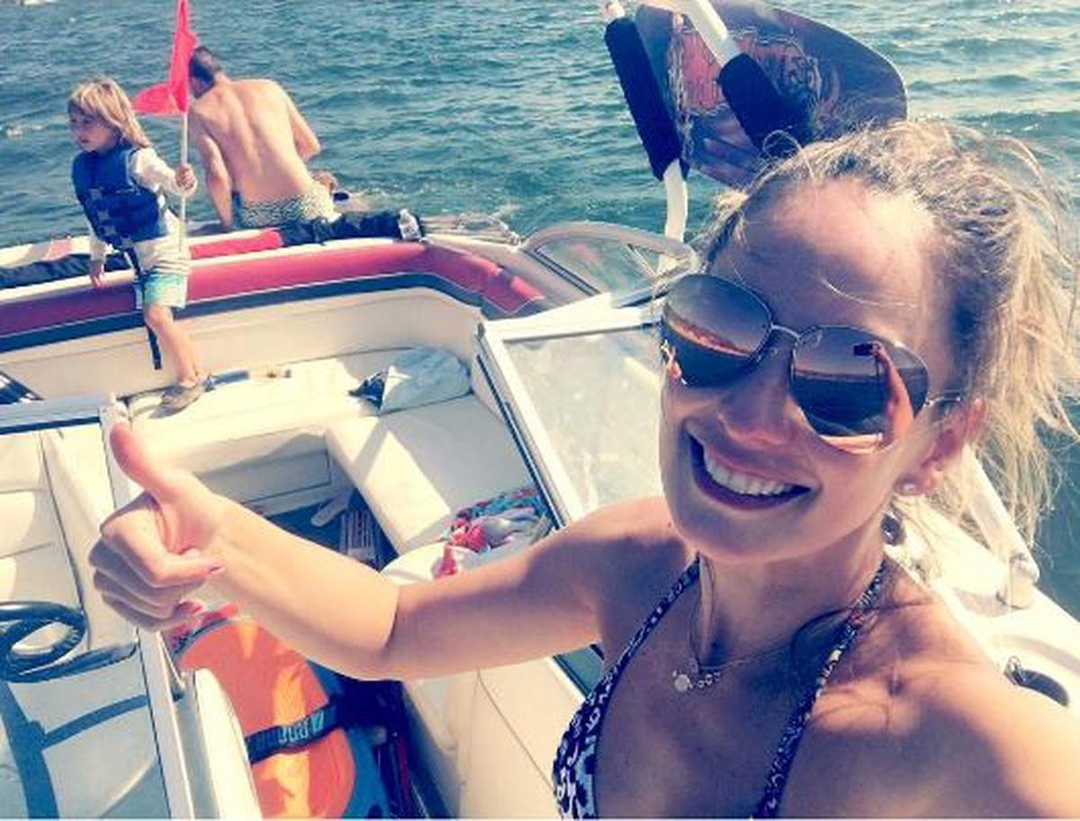 Claudia Bahamon bikini