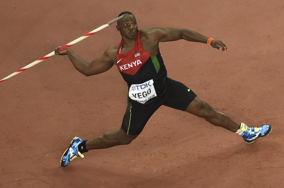 Julius Yego, campeón del mundo en lanzamiento de jabalina