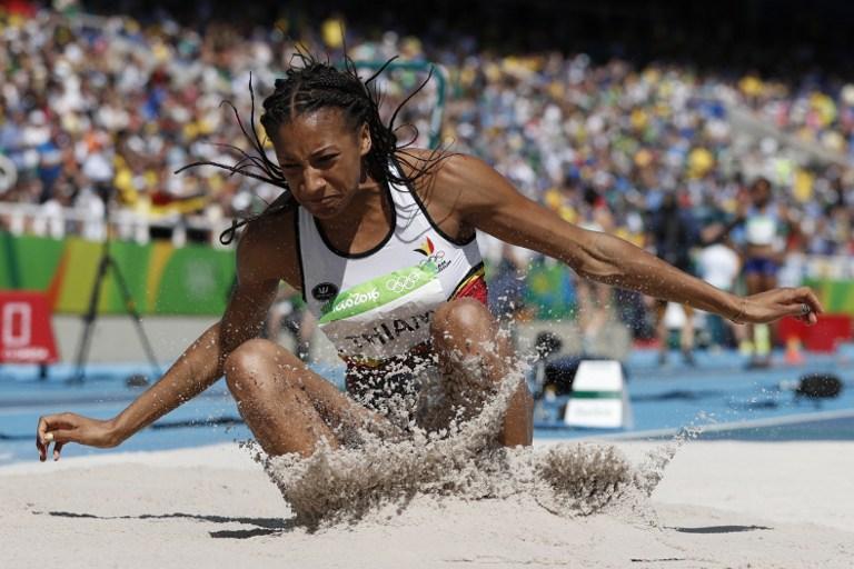 La atleta belga Nafissatou Thiam compite en los Juegos Olímpicos. Pulzo.com