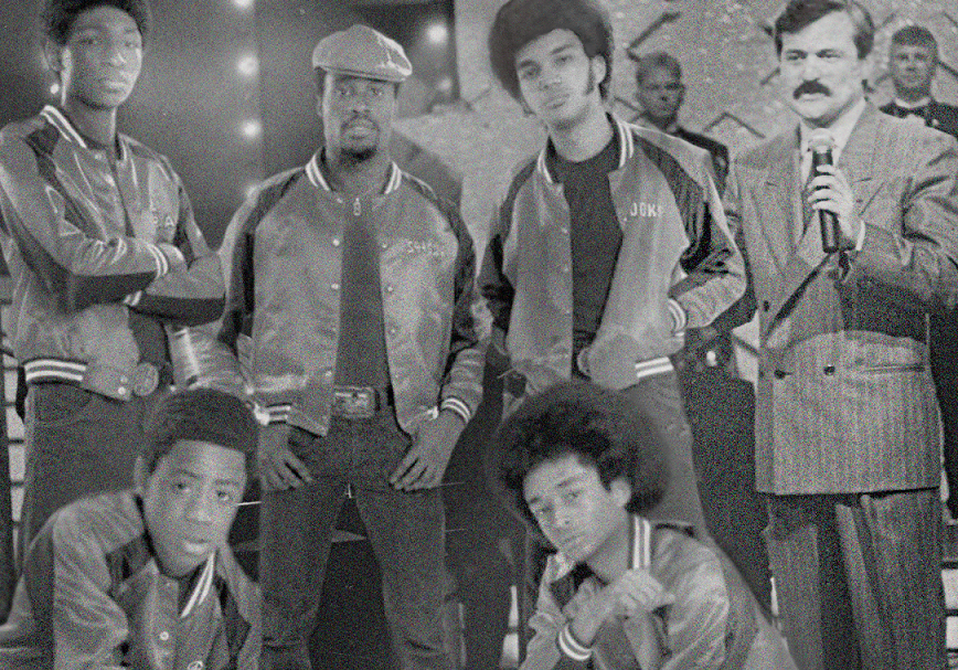 Jorge Barón junto a The Get Down Brothers - pulzo.com